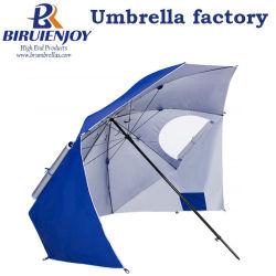 Anti UV Brella Sun Sport / Grande taille Windproof Parapluie tente de plage