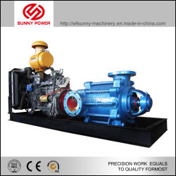 Waterpomp Dieselmotor Voor Irrigatie Met Hoge Druk