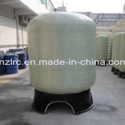 Filtre de haute qualité de l'activité de PRF du réservoir de filtre à charbon de sable de rangement en plastique en fibre de verre