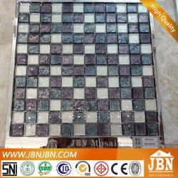 23X23X8mm Großhandel Mode Golden Folil Glas Mosaik (G823022)