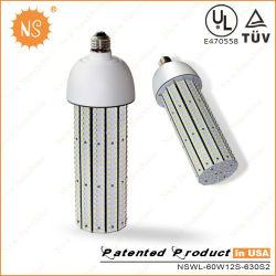 130lm/W SMD LED UL3528 60W de maïs à l'intérieur de l'éclairage Lampe E40