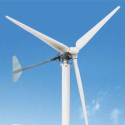 Basse vitesse du vent de démarrage 48V 96V 120V 3kw Turbine éolienne horizontale