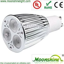 9W modulable et No-Dimmable LED spotlight GU10