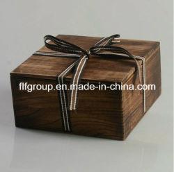 سعر تنافسي للبيع الساخن هدية الخشب الحساسة صندوق