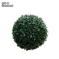 Écologique anti-UV fleur verte de gros de fleurs artificielles Ball