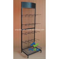Односторонний трубы рамы решетки металлические изделия по распространению рекламных материалов на стене экспозиции для установки в стойку (PHY304)