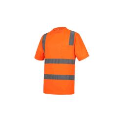 Fabricante chino reflectante de seguridad Camiseta transpirable de trabajar con seguridad de los hombres camisas Polo T-Shirt