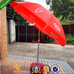 Paredes Windproof Sun Beach sombrilla paraguas con una inclinación (BU-0048TW)