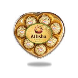 T8 8PCS galette d'arachide en forme de coeur Milka boule enrobée de chocolat bonbons d'aliments de collation