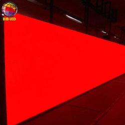 توفير الطاقة إضاءة عالية إضاءة خارجية P6.67 مم حاوية المكواة LED ثابت شاشة حائط الفيديو