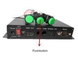 Leitor de mídia de disco rígido com sensor de movimento, GPIO, RS232, Botões de controle.