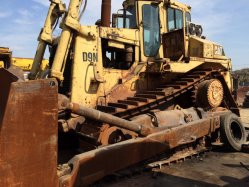 Utiliza Cat D9n original Bulldozer Caterpillar D9n topadora