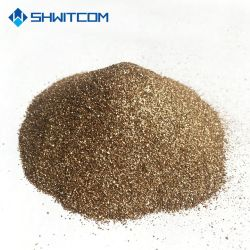 Vermiculite in espansione dorata e d'argento