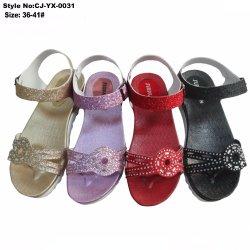 Pvc Lady Elegant Sandal, Mooie Vrouwelijke Casual Wedding Sandal Schoenen