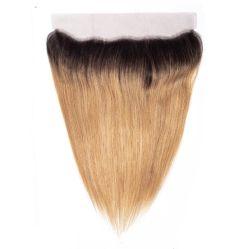 Ombre 1b/27# Menschenhaar-frontales chinesisches Fabrik-Großverkauf-Haar