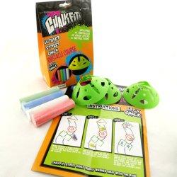 Juego de la calle Chalk jugar Carrera de Obstáculos Toy