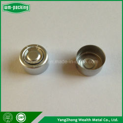 Frasco tapa de aluminio 13mm, las tapas de aluminio para botellas de vidrio