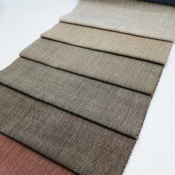 Tecidos de fios de linho têxtil sofá-cama estampar o tecido de revestimento