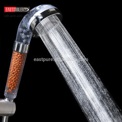 Amazon Hot Sale Ec-Sh06-V Kdf/Vitamine C'ordinateur de poche filtre de la tête de douche avec une pression élevée