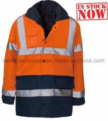 싼 Mens 안전 일 재킷 안전은 작업복을 입는다