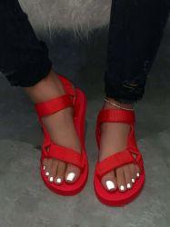 Televisão Calcanhar Casual sapatos caros Slides fêmea no exterior, Televisão Mulheres Sandals