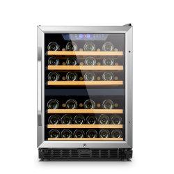 Dispositivo di raffreddamento di vino doppio del compatto di zona del frigorifero domestico della Cina
