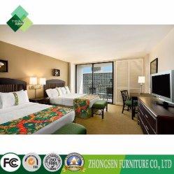寝室の家具(ZBS-879)のための新しい米国式の木のベッド