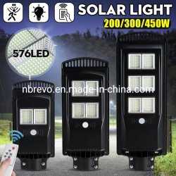 Super Bight 192 384 576 resistente al agua LED lámpara solar jardín (RS7140X)