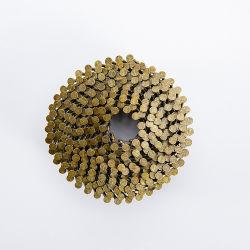 Bobine de l'anneau de fer de queue de fixation des clous pour les caisses en bois
