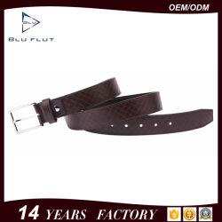 Kostenloses Custom Logo Bedruckte Hochwertige Lederriemen mit schönen Schnallen