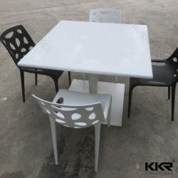 Искусственный камень Corian акриловый твердой поверхности стола в ресторане 0207