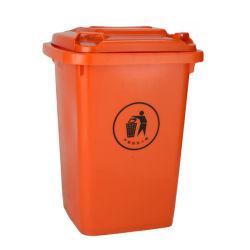 Venta caliente100L120L de plástico reciclado de residuos al aire libre las latas de bandeja de basura