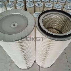 Polyester sac collecteur de poussière du filtre HEPA Air/PTFE de filtre à cartouche pour la métallurgie de l'industrie P031791