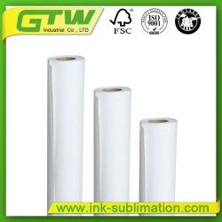 Customed Breiten-Sublimation-Papier 100GSM für Übertragung und Druck