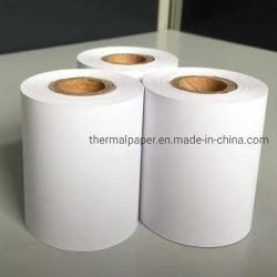 55gramos 80mm*80mm ATM impresión Fax rollos de papel térmico de PDQ