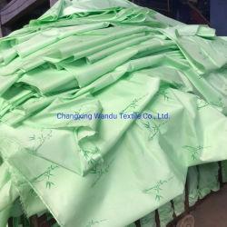 Het Katoen van de was 100% Stof van Bedsheet van het Af:drukken van de Ontwerpen van het Bamboe van de Polyester