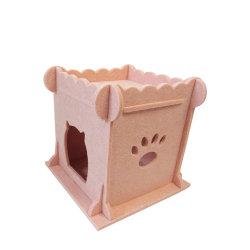 Kd kleines Haustier-Haus mit Filz-Material