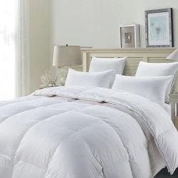 Tröster des luxuriöse weiße Bettwäsche-königlicher König-Size Bed Full Organic