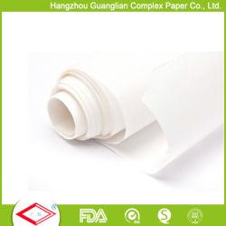 40gsm, Grau Alimentício dispensador de silicone branco assar o rolo de papel
