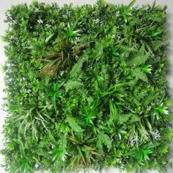 Antigeschützter feuerverzögerndes künstliches Boxwood-Farn-Pflanzenlaub EFEU Blatt-Hecke-Privatleben-vertikaler Garten-Grün-Wand-UVhersteller