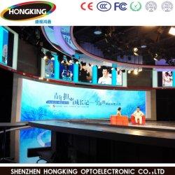 P3.91 P4.81 Placa de la pantalla de pantalla LED curvada