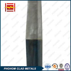 爆発溶接Steel+のアルミニウムバイメタルの物質的な覆われた版