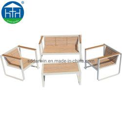 Moderne Outdoor Garden Houten Sofa Lounge In Aluminium