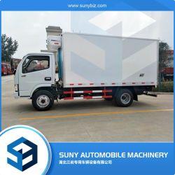 África utiliza DFAC Caja de camión frigorífico congelador para la venta