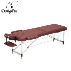 En aluminium portable Lit de massage, salon de beauté SPA Table de massage pour la vente