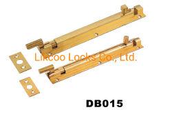 Parafuso de torre de segurança de latão porta do banheiro Parafuso (dB015)
