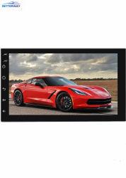 Universal Betterway Android 9.1 coche reproductor de radio 2 DIN de 7 pulgadas de enlace espejo Teléfono Reproductor multimedia de coche Navegación GPS WiFi Bluetooth Alquiler de Video