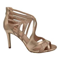 OEM-Sexy моды шампанское римские сандалии женская обувь