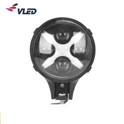 L'angelo automatico all'ingrosso della lampada di prezzi LED Eyes DRL che determina l'indicatore luminoso di azionamento chiaro capo di 12V 60W6.3inch LED