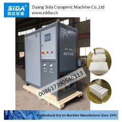 Sida-Trockeneis-Block, der das Betätigen der Verpackungsmaschine und des verschiedenen Trockeneis-Pelletisierers, neuer vertikaler Entwurf bildet
